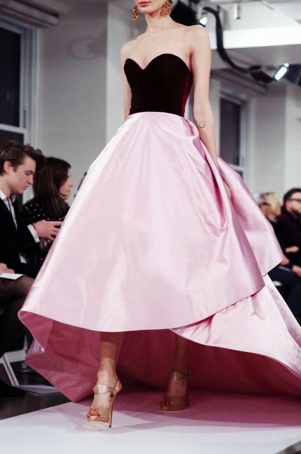pink dress fall 2014