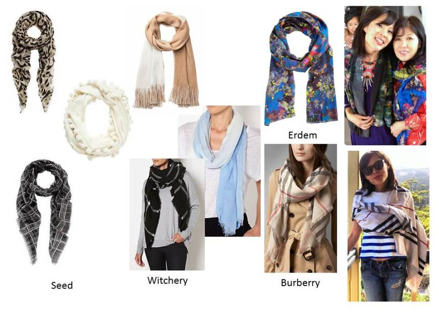 Yummy Mummy scarves